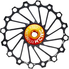 KCNC Jockey Wheel Narrow Wide 16T SS Bearing, black